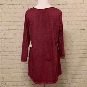 Tops - Jersey Knit High Low Top.  NWT
